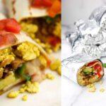 Meriendas veganas Burritos